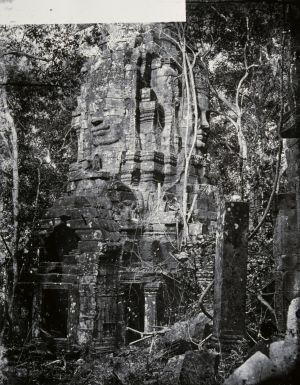 Face-towers of the Bayon temple