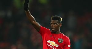 Manchester United   midfielder Paul Pogba  has not played since St Stephen's Day. Photograph:   Robbie Jay Barratt/Getty Images