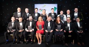 Winners celebrate at the Facilities Management Awards 2020