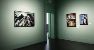 Works by Nan Goldin at an exhibition at the Irish Museum of Modern Art