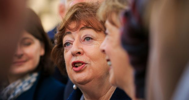 Kildare North TD Catherine Murphy's potential move  indicates that the party, who now have six TDs, are likely to remain in Opposition. Photograph: Collins