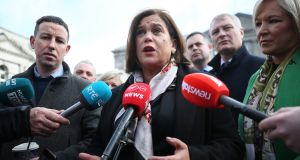 "Sinn Féin leader Mary Lou McDonald. To support production companies ""in places like Limerick, Galway and Waterford"", the party says it will create a fund that will rise to as much as €80 million a year. Photograph: Nick Bradshaw"