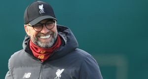 Liverpool   manager Jürgen Klopp said: 'We don't feel like the winners of last year's tournament, we feel like contenders for this year's.' Photograph:  AFP via Getty Images