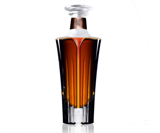 The whiskey will be sold in Waterford Crystal decanters, which will be numbered