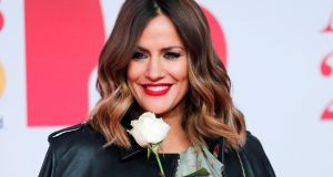 British television presenter Caroline Flack: her arrest and charge with assault precipitated her becoming a target of much abuse. File photograph: Eddie Keogh/Reuters