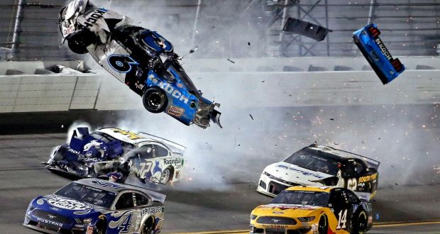 Newman Expected To Survive Fiery Crash At Finish Of Daytona 500