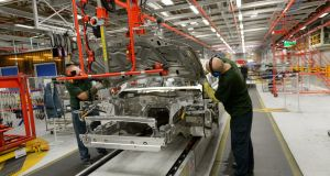 Jaguar Land Rover only has enough parts in its UK factories to last the next two weeks because of the impact of the coronavirus on the carmaker's supply chain
