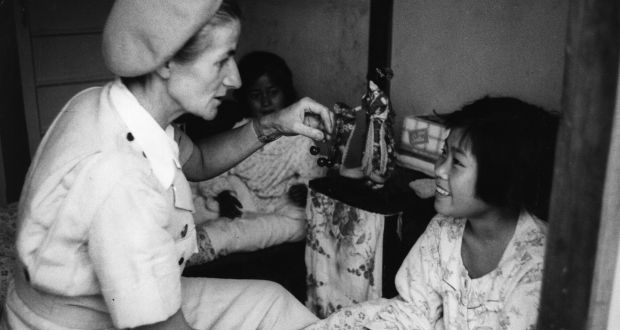 Scottish-born doctor and birth control pioneer Marie Carmichael Stopes is one of the women featured in Difficult Women by Helen Lewis. Photograph:  Hulton Archive/Getty Images