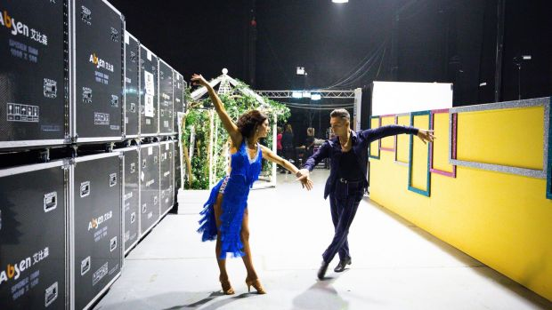 Dancing with the Stars: Sinead O'Carroll and Ryan McShane. Photograph: Tom Honan / The Irish Times