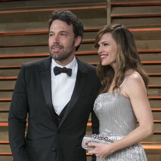 Affleck with his ex-wife Jennifer Garner in 2014: 'The biggest regret of my life is this divorce.' Photograph: Adrian Sanchez-Gonzalez/AFP via Getty