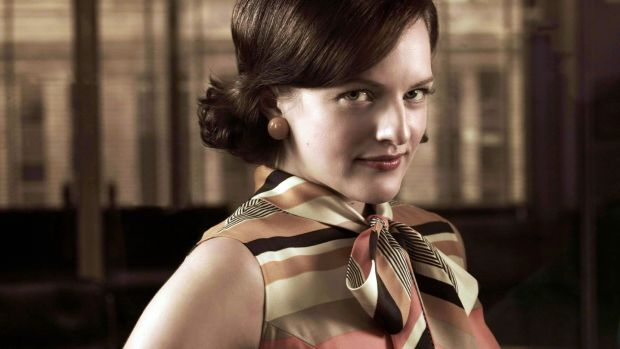 "ELizabeth Moss as Peggy Olson: ""She was smart, but she did stupid things sometimes."""