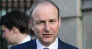 "Fianna Fáil leader Micheál Martin said the talks process would not be easy but was a ""hugely important one"". Photograph: Gareth Chaney/Collins"