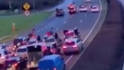 Gardaí investigating four-lane motorway sulky race