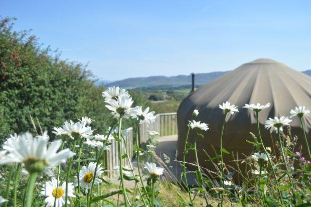 Portsalon Luxury Camping à Co Donegal est l'endroit idéal pour faire du glamping. Photographie: Donegalglamping.com