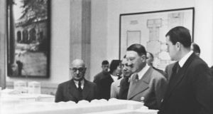 Hitler with architect Albert Speer, whose plans for Germany resembled nothing so much as a Rome for the third millennium.  Photograph: Ullstein Bild/via Getty Images