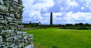 Scattery Island is home to an ancient monastic site founded by St Senan, who is said to have banished a dragon-like creature called Cathach