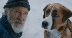 Frozen two: Harrison Ford and Buck in The Call of the Wild