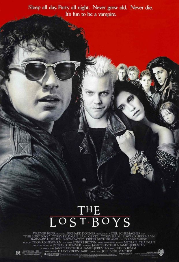 Original poster art for The Lost Boys (1987)