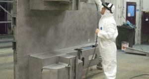 Maine provides powder coating and wet paint spraying and in-house fabrication