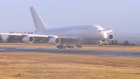 A380: world's largest passenger jet lands at Ireland West Airport