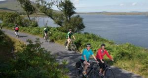 Over 40 outdoor recreational projects such as cycleways and walking trails are to benefit from €8.4 million in State funding announced on Friday.   Photograph: Michael McLaughlin