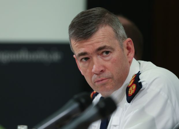 Garda Commissioner Drew Harris 'In the end I'm a public servant.' Photograph: Crispin Rodwell/The Irish Times