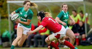 Eimear Considine: starts at fullback in the Ireland side to face England at Doncaster. Photograph: Tommy Dickson