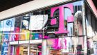 The recut deal will give German telecoms company Deutsche Telekom, the parent of T-Mobile US, 43 per cent ownership of the yet-to-be combined US wireless carrier. Photograph: Brittainy Newman/New York Times
