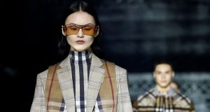 Luxury goods maker Burberry closed 2.58 per cent down in London, recovering slightly from lows that saw it lose as much as 3 per cent of its value. Photograph: Henry Nicholls/Reuters