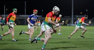 Martin Kavanagh of Carlow attacks in the first half. Photo: Brian Reilly-Troy/Inpho
