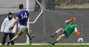 Kerry's David Clifford scores a goalagainst Meath. Photograph: Lorraine O'Sullivan/Inpho