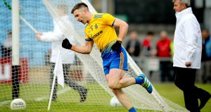 Cathal Cregg scored one of Roscommon's two second-half goals against Kildare in Newbridge. Photograph:  Ryan Byrne/Inpho