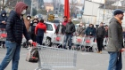 Quarantine, food queues  in Italy as coronavirus cases surpass 100