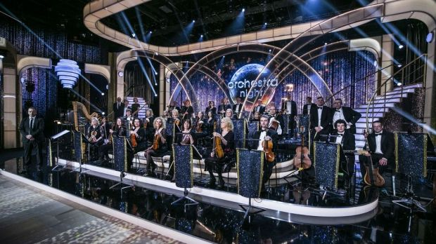 The RTÉ Concert Orchestra played live on the show. Photograph: Kyran O'Brien
