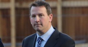 A file image of Graham Dwyer. Photograph: Collins