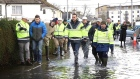 Taoiseach visits flooded areas in the midlands