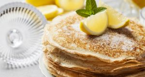 Is this how you will be eating your pancakes today? Photograph: iStock