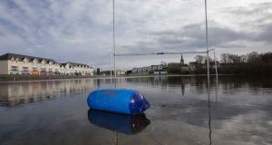 Flooding in Carrick-on-Shannon. Photograph: Brian Farrell/The Irish Times