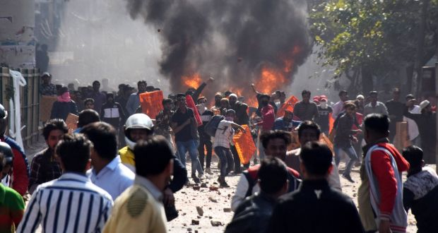 Image result for 20 killed, more than 150 injured in Indian Citizenship protest