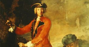 Portrait of Charles Hamilton by Antonio David in 1732. Photograph: Painshill Park Trust