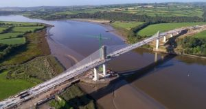 TII is responsible for maintaining more than 5,000km of national roads, including the Rose Kennedy Fitzgerald Bridge over the River Barrow, linking Co Kilkenny and Co Wexford. File photograph: The Irish Times