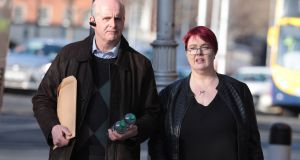 In their High Court challenge, Cornelius and Suzanne Dennehy from Fossa, Co Kerry claim the planning board's decision over access to the lake was irrational. Photograph: Collins Courts