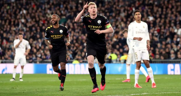 Kevin de Bruyne: City players 'surprised' by Guardiola tactics