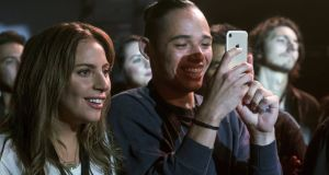 Lady Gaga, Anthony Ramos and an iPhone in A Star Is Born: Apple reportedly requires on-screen use of its products to reflect favourably on the company