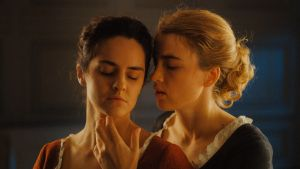 Noémie Merlant and Adèle Haenel in Portrait of a Lady on Fire.  Photograph: Lilies Films