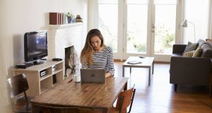Much of the tech that underpins remote working, such as the video-conferencing service Zoom and the chat app Slack, is finally mature and reliable. Photograph: iStock