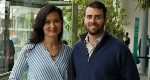Change Donations founders Lizzy Hayashida and William Conaghan came up with the concept   while studying for an MBA at Trinity College