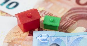 Data from the Banking and Payments Federation Ireland show that first time buyers accounted for 1,590 of the 3,265 mortgages approved last month. Photograph: iStock