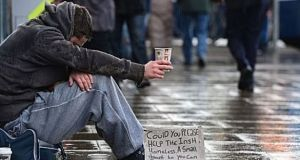 The Simon Communities  said the latest statistics show 4,400 single adults in emergency accommodation, an overall increase of 7.2% since January 2019. File photograph: The Irish Times