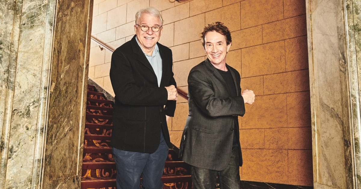 Steve Martin and Martin Short. Photograph: Bryan Derballa/New York Times